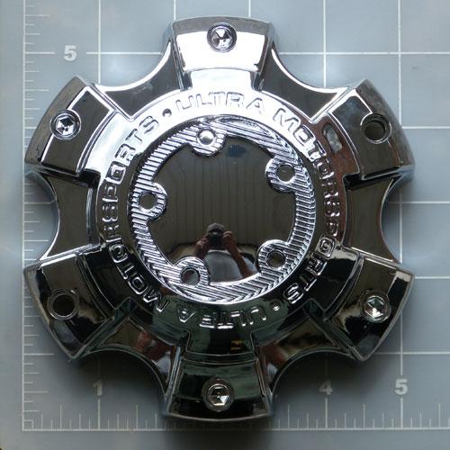 89 9865 Ultra Chrome 6x135 6x5 5 Bolt On Center Cap 89