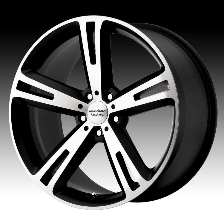 Niche Wheels Mustang >> American Racing Villain AR885 885 Matte Black Machined Custom Rims Wheels - Discontinued ...
