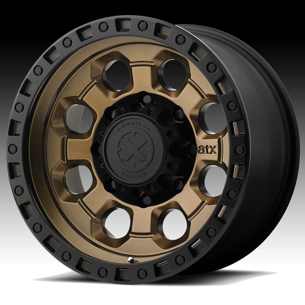 ATX Series AX201 Matte Bronze Custom Wheels Rims - ATX ...
