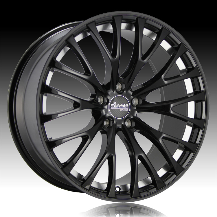 advanti racing fs fastoso matte black custom wheels rims. Black Bedroom Furniture Sets. Home Design Ideas