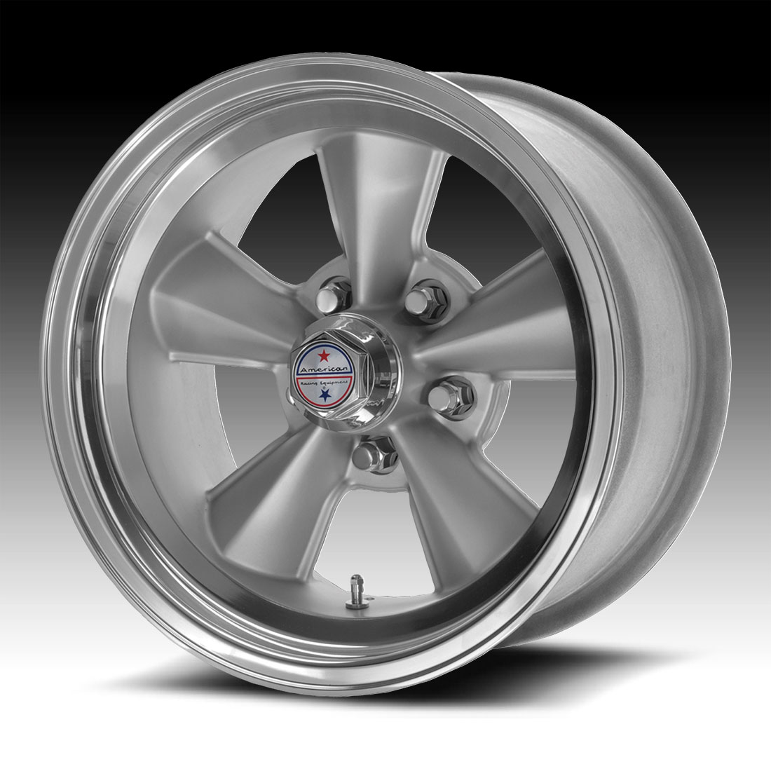 American Racing Tto Vn309 309 Vintage Silver Machined