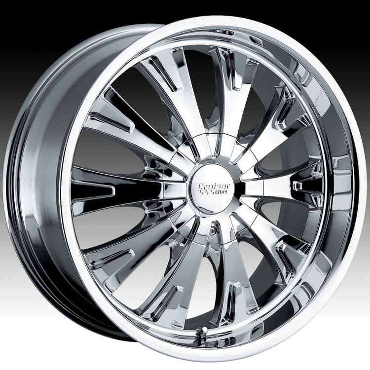 Cruiser Alloy 903c 903 Cake Rwd Chrome Custom Rims Wheels