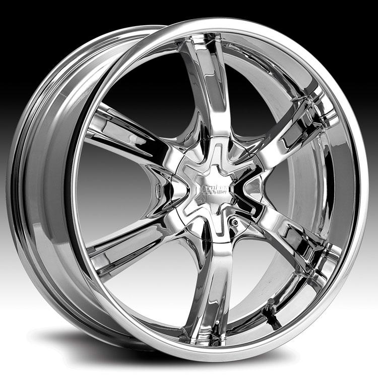 Cruiser Alloy 907c 907 Magneto Chrome Custom Rims Wheels