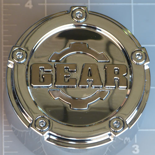 CAP-5L-C14 / Gear Alloy Chrome Pop-In Center Cap 1