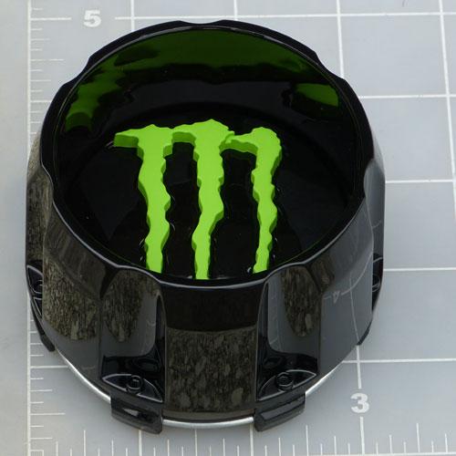Cap 648mb 5 Mg Monster Energy Gloss Black Center Cap