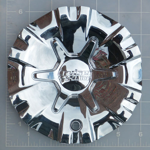 CAP-906CF / Cruiser Alloy 906C Raptor FWD Chrome Center Cap 1
