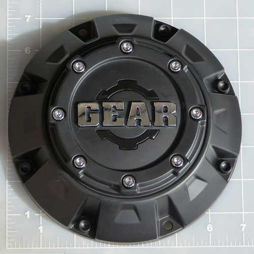 CAP-725B / Gear Alloy Satin Black Center Cap 1