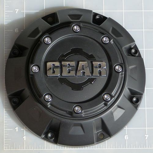 Cap 725b Gear Alloy Satin Black Center Cap Gear Alloy