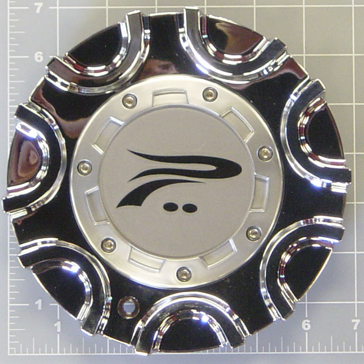 Platinum 406c America Chrome Center Cap 89 9406c