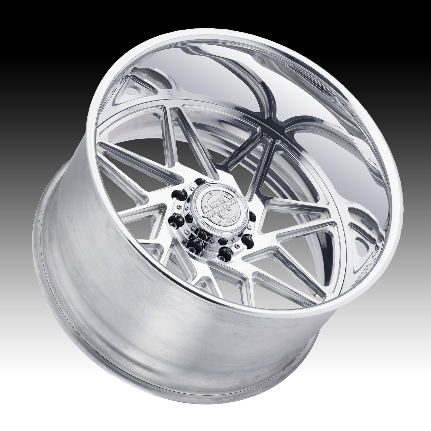 Centerline Forged F81P Polished Custom Wheels Rims