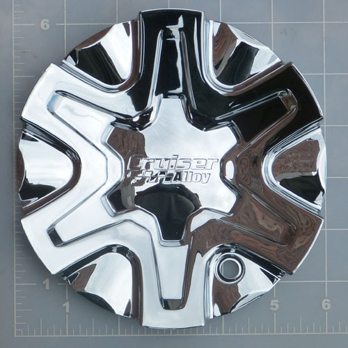 CAP-907CF / Cruiser Alloy 907C Magneto FWD Chrome Center Cap 1