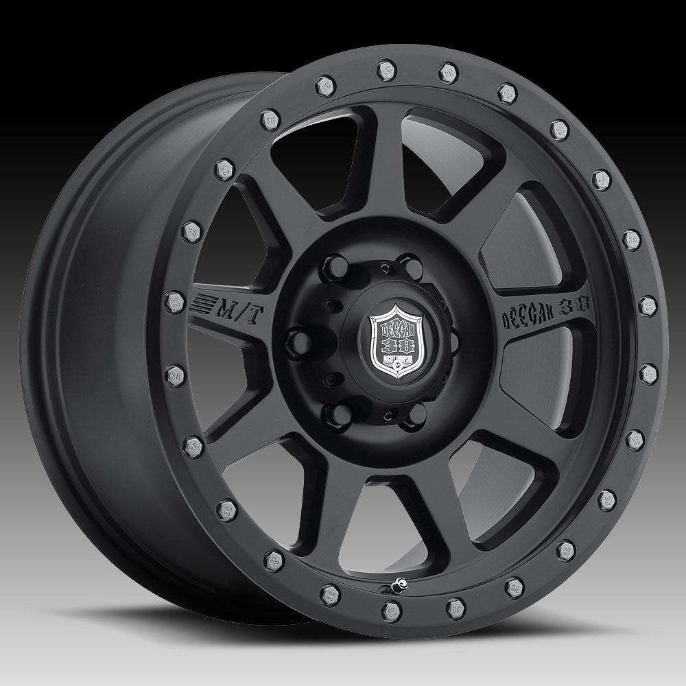 Pro Xpo Matte Black Cws: Deegan 38 567SB PRO-4 Matte Black 17x9 6x5.5 -12mm