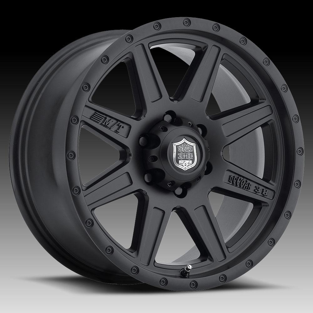 Pro Xpo Matte Black Cws: Deegan 38 568SB PRO-2 Matte Black 15x10 5x5.5 -48mm