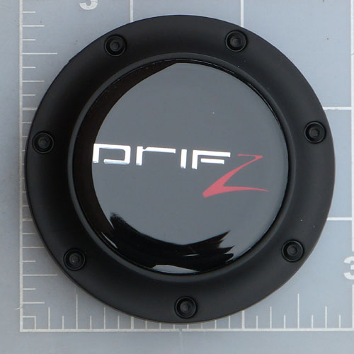 CAP-207B / Drifz Carbon Black Pop-In Center Cap 1