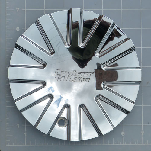EF-607CR / Cruiser Alloy 607C Swagger Chrome RWD Center Cap 1
