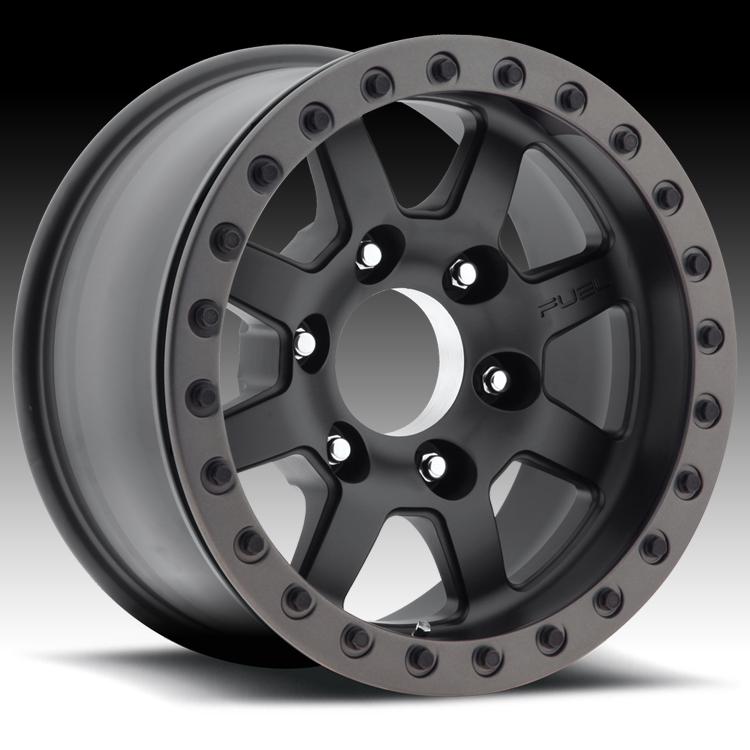 Goodyear Racing Tires >> Fuel Trophy Beadlock D105 Black Custom Truck Wheels Rims - Fuel - 1PC - Custom Wheels Express
