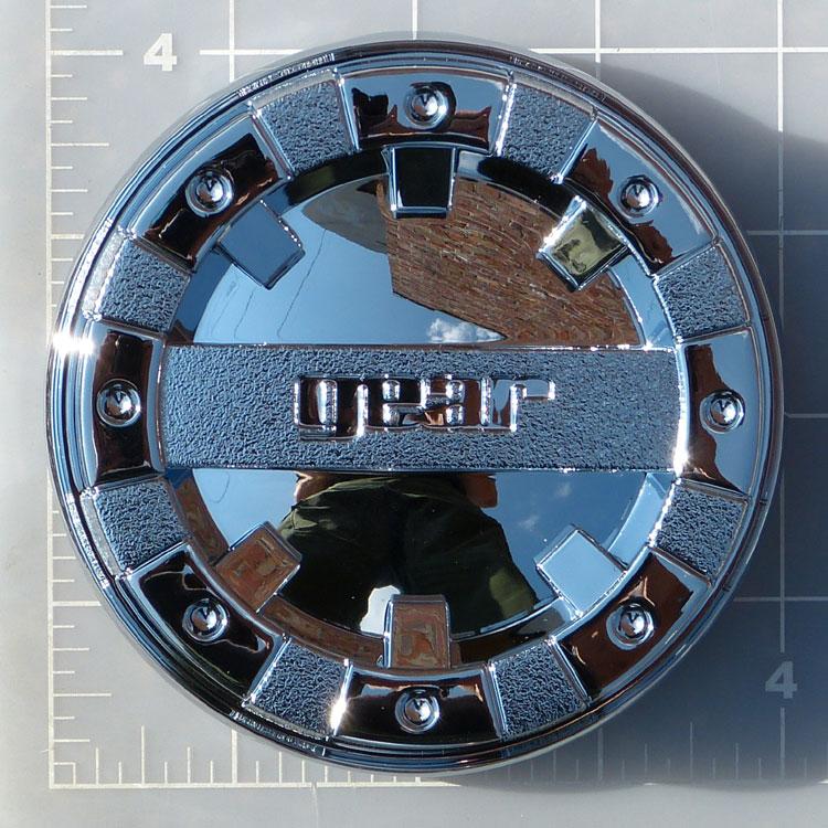 Cap 713c Gear Alloy Chrome Snap In Center Cap Gear