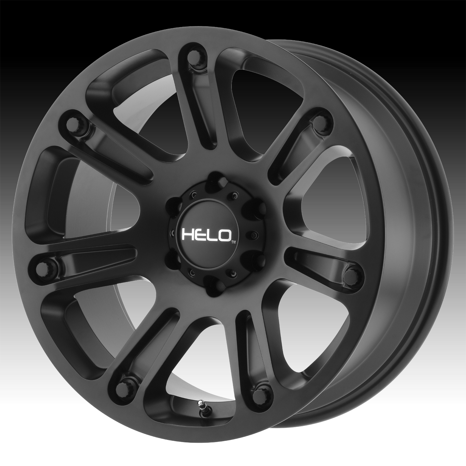 Custom Fj Cruiser >> Helo HE904 Satin Black Custom Wheels Rims - HE904 - Helo Custom Wheels Rims