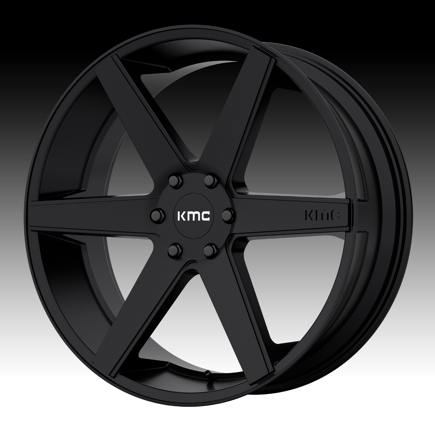 Kmc Km704 District Truck Satin Black Custom Wheels Rims