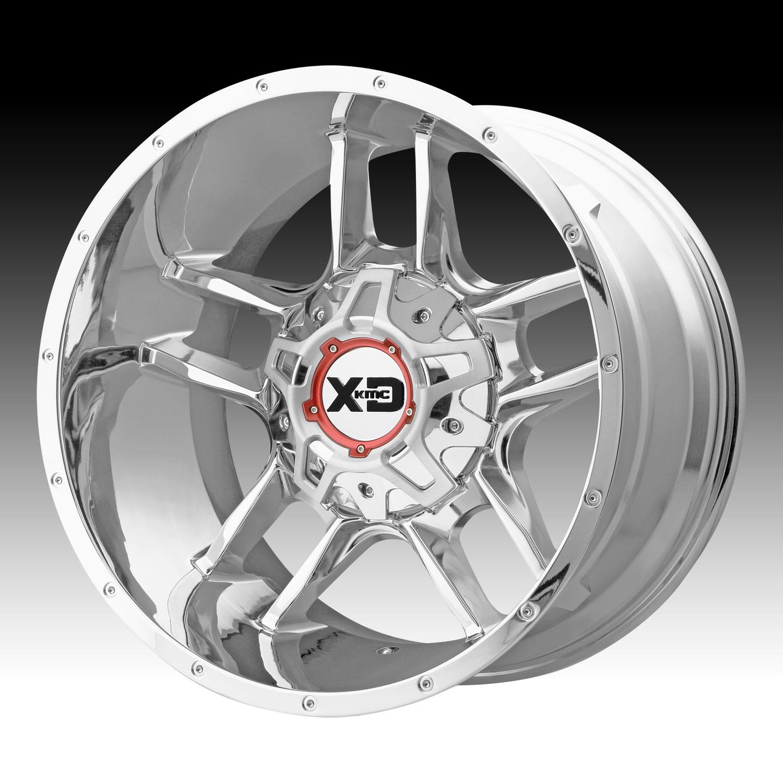 Clamp Tractor Rims Rims : Kmc xd series clamp chrome custom wheels rims