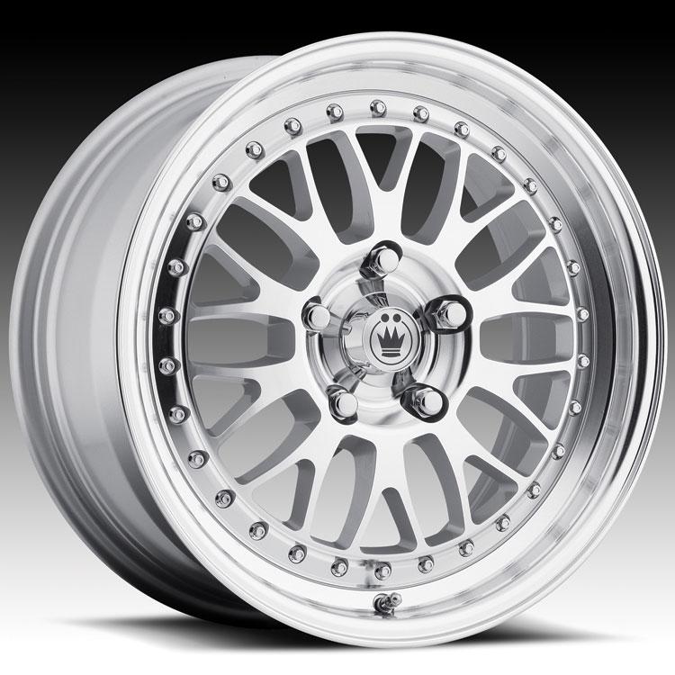 Konig Roller 44S RO Silver W/ Machined Face Custom Rims