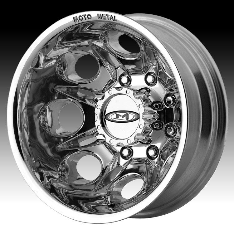 Moto Metal 953 Mo953 Dually Polished Custom Wheels Rims