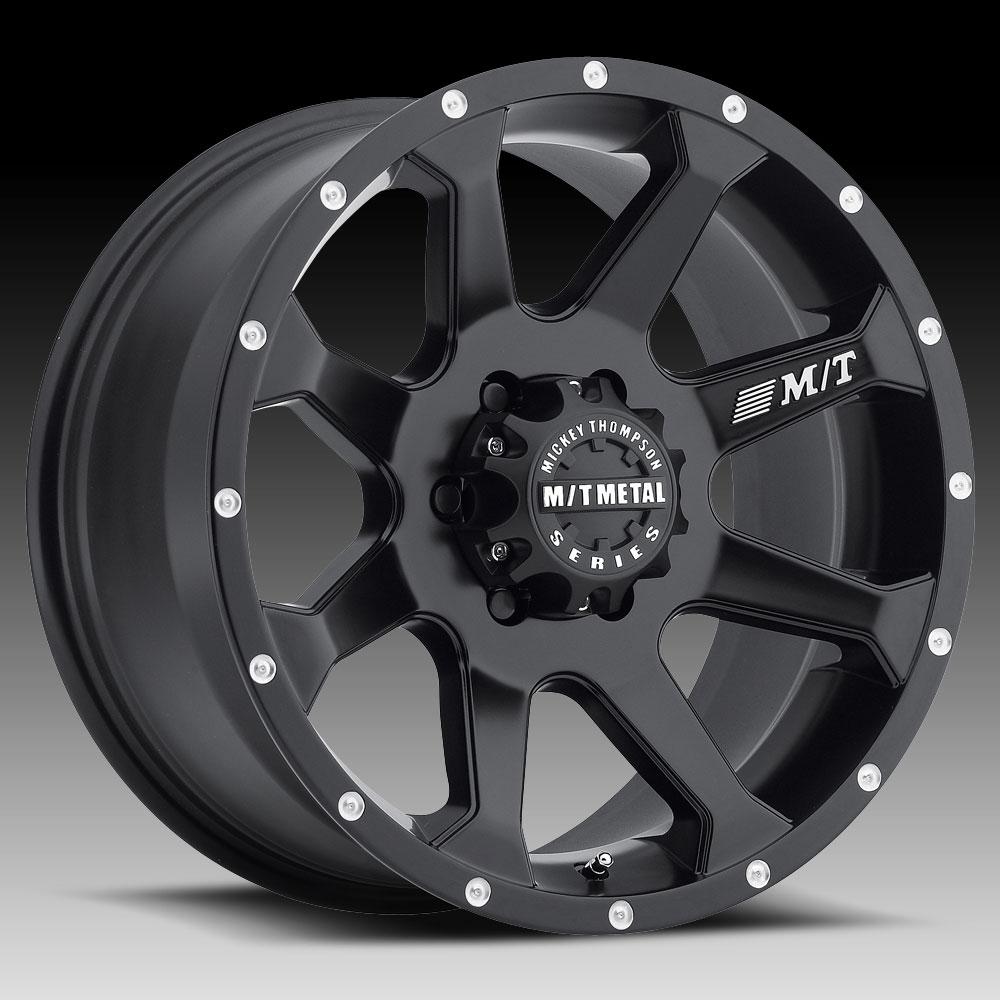Mickey Thompson Metal Series Mm366 Matte Black Custom