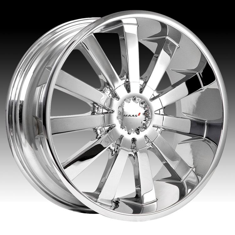Maas 030C 030 Coventry Chrome Custom Rims Wheels - 030C - Coventry