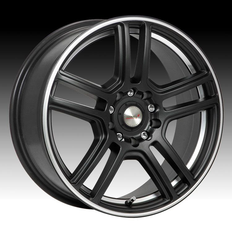 Maas 315B 315 Essex Carbon Black w/ Machined Custom Rims Wheels