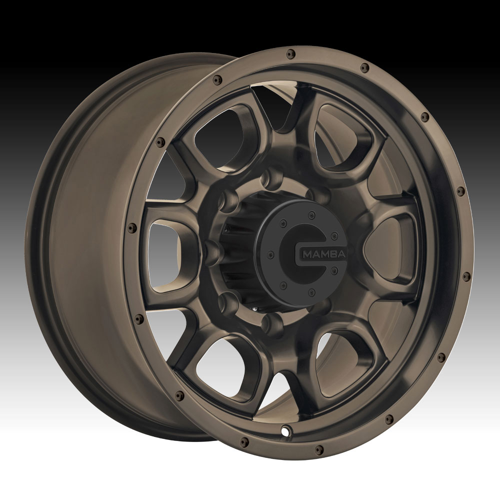 Mamba M19 Bronze Custom Wheels Rims Mamba Wheels