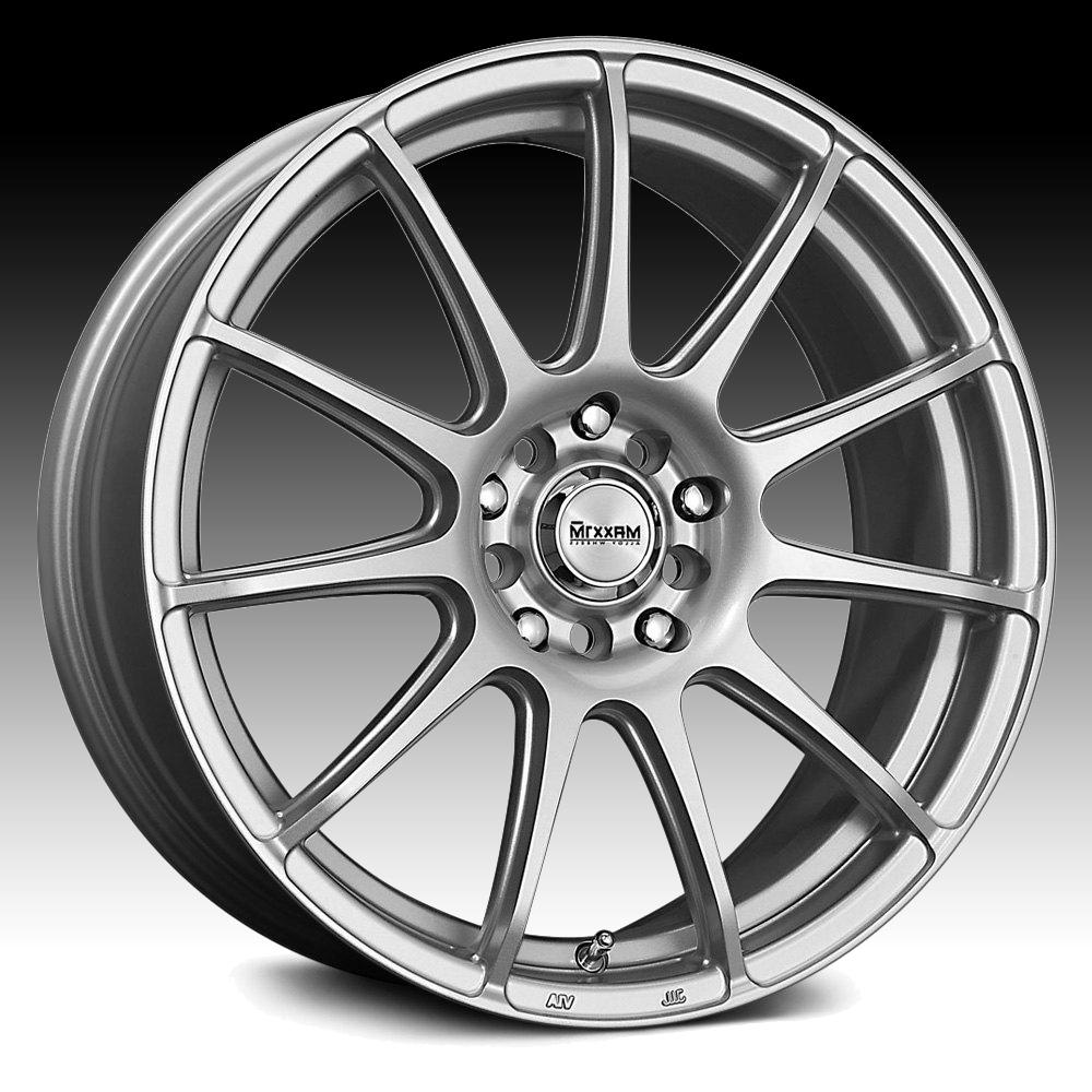 Maxxim Winner WN Silver Custom Wheels Rims - Winner / WN