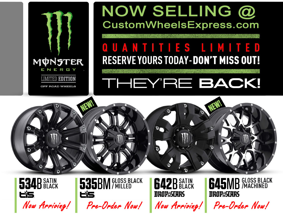 DropStars Monster Energy Edition 645MB Black Machined ...