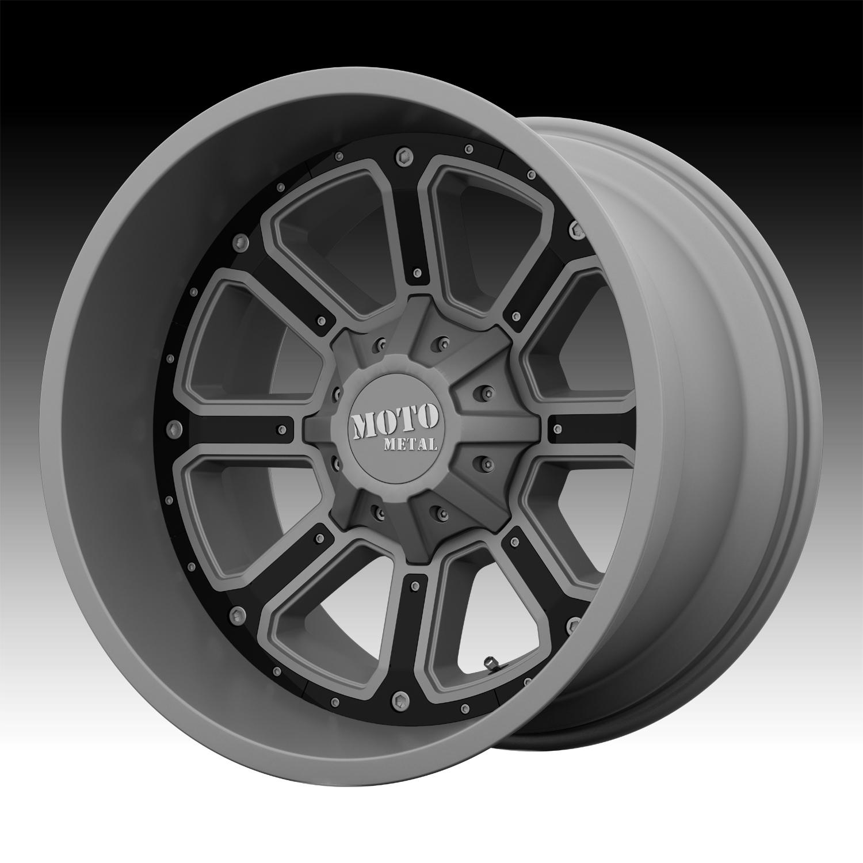 Moto Metal Wheels >> Moto Metal MO984 Matte Gray Custom Wheels Rims - MO984 - Moto Metal Custom Wheels