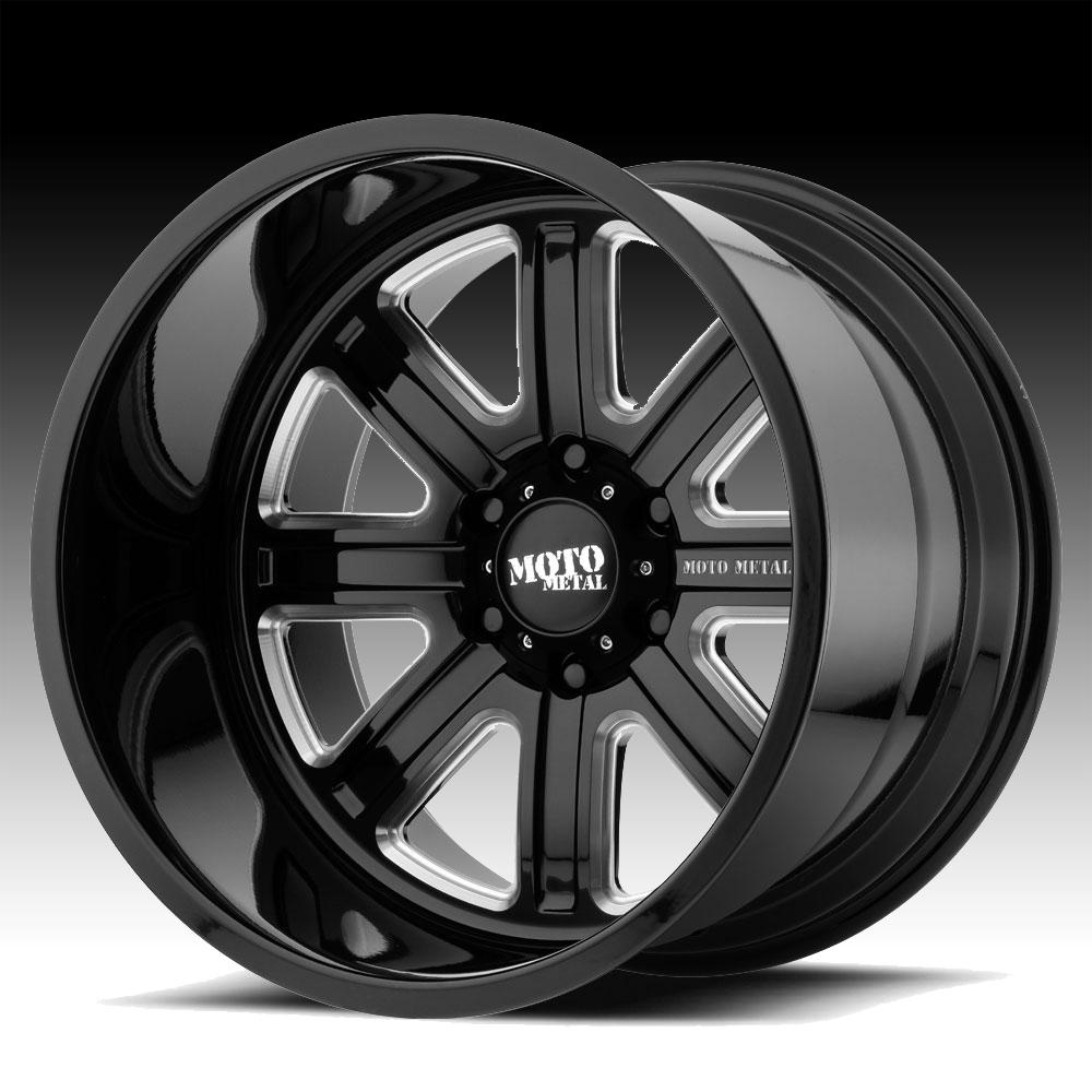 Moto Metal Wheels >> Moto Metal MO402 Forged Black Milled Custom Wheels Rims - MO402 - Moto Metal Custom Wheels