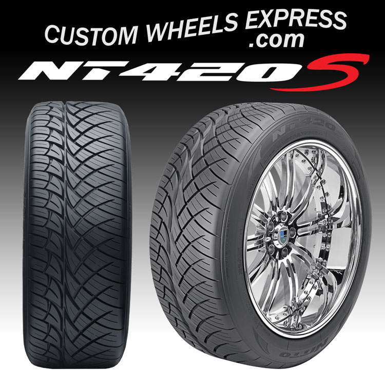 "Nitto Dura Grappler >> 305/40R22 114H XL Nitto NT420S All Season Truck and SUV Tires - NT420 202-000 - 22"" Nitto NT420S ..."
