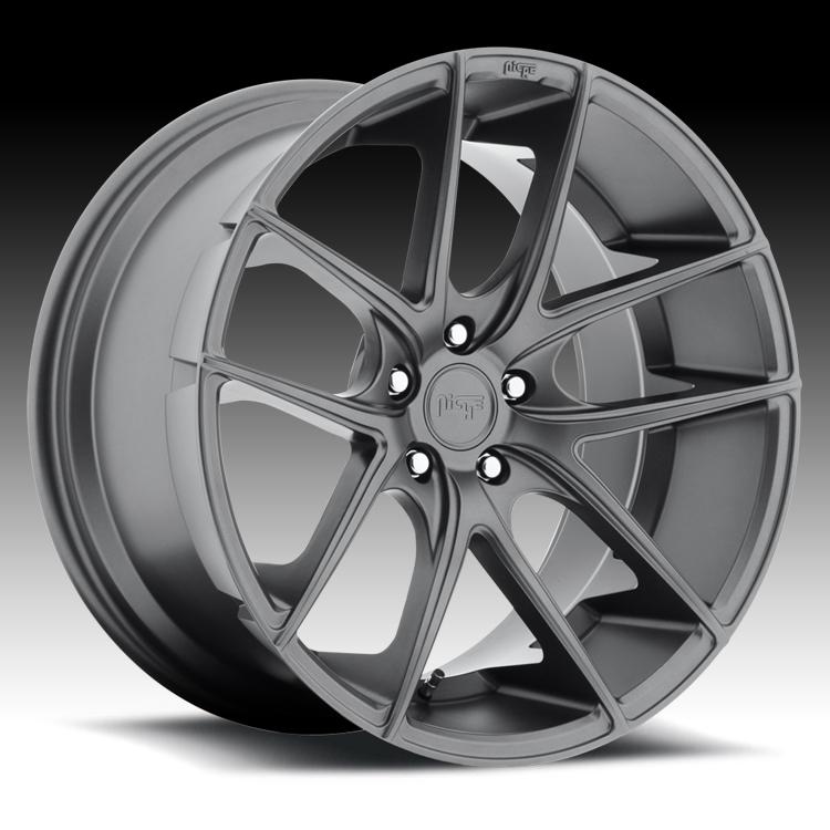 Niche Road Wheels >> Niche M129 Targa Matte Anthracite Custom Wheels Rims ...