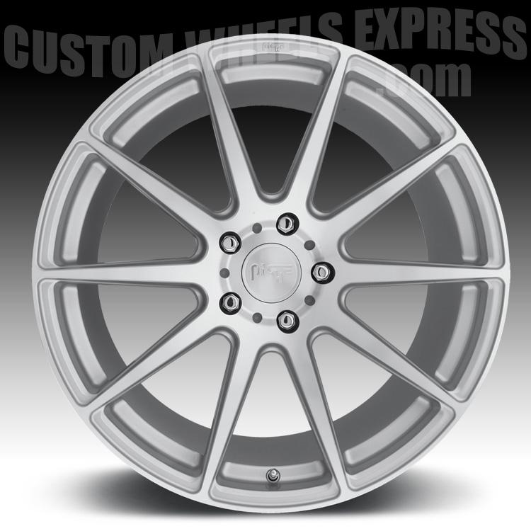 Niche M146 Essen Machined Silver Custom Wheels Rims