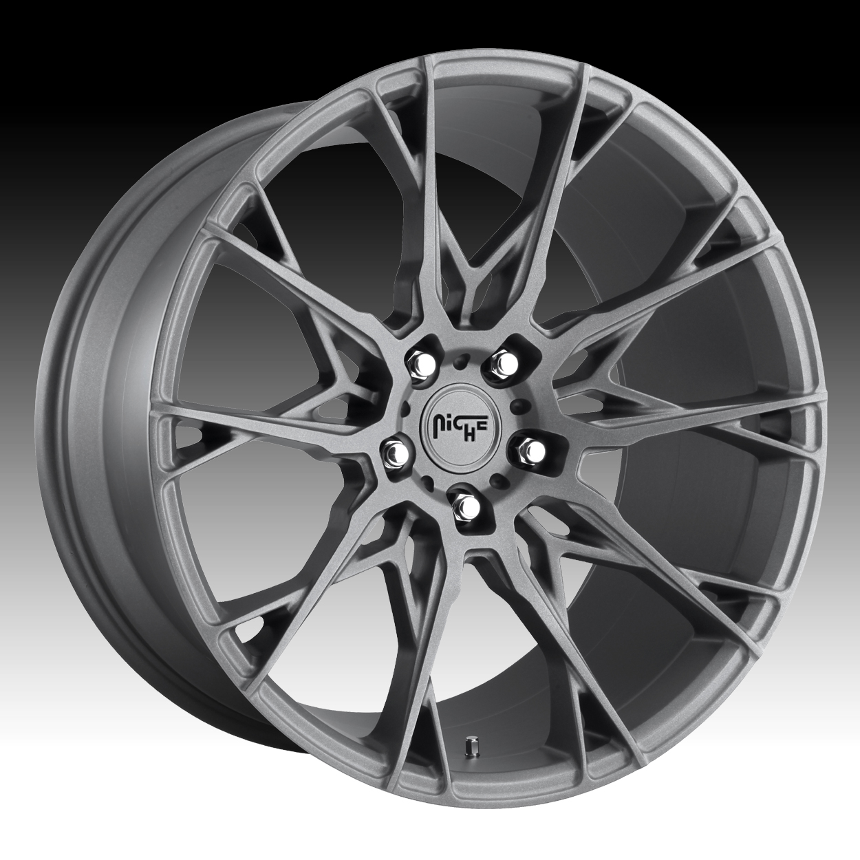 Niche Road Wheels >> Niche Staccato M182 Matte Anthracite Custom Wheels Rims M182