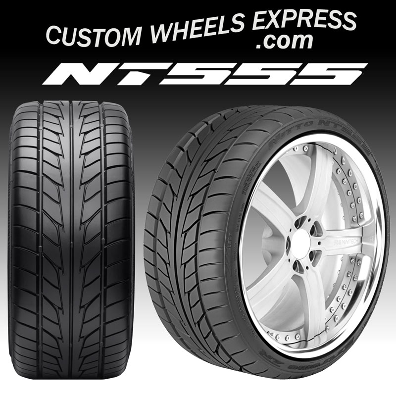 235 35R19 91W ZR Nitto NT555 Extreme High Performance Tires
