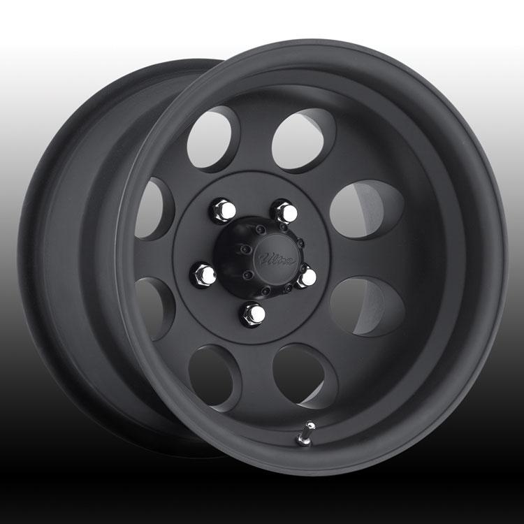 Pacer 164b 164 Lt Mod Matte Black Custom Rims Wheels