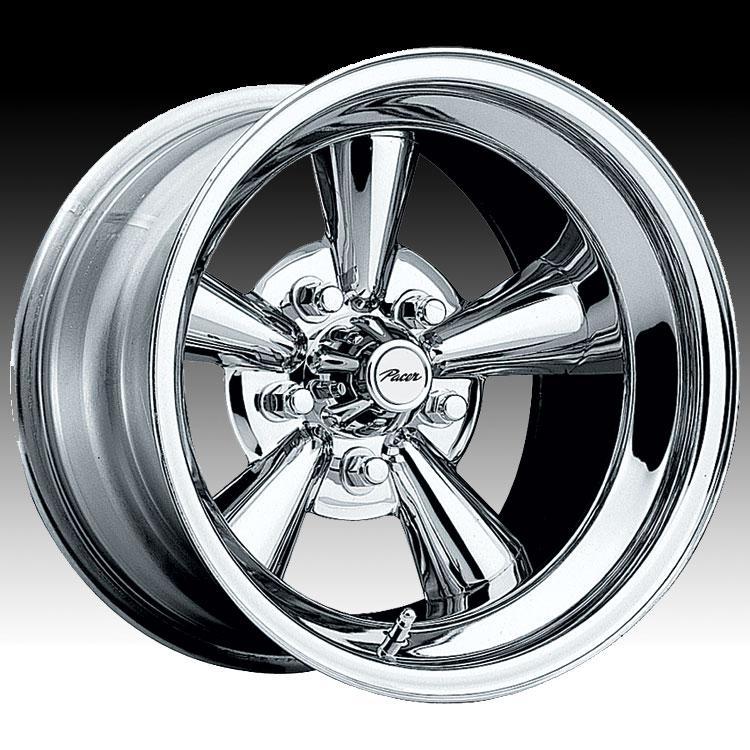 Pacer 177C Supreme Chrome Custom Rims Wheels - 177C - Supreme