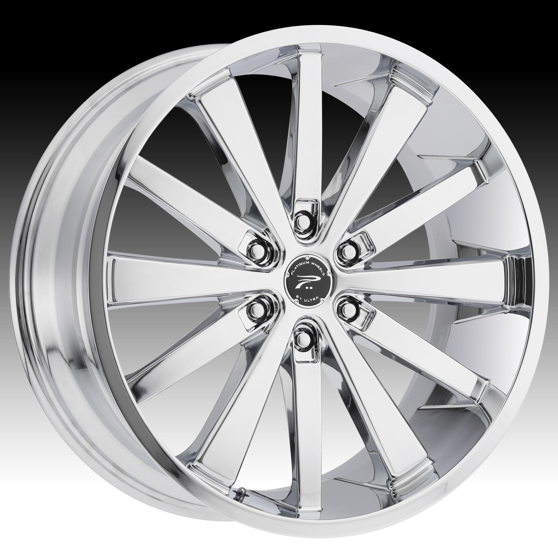 Pratnumz Platinum: Platinum 270 Pivot Chrome Custom Wheels Rims