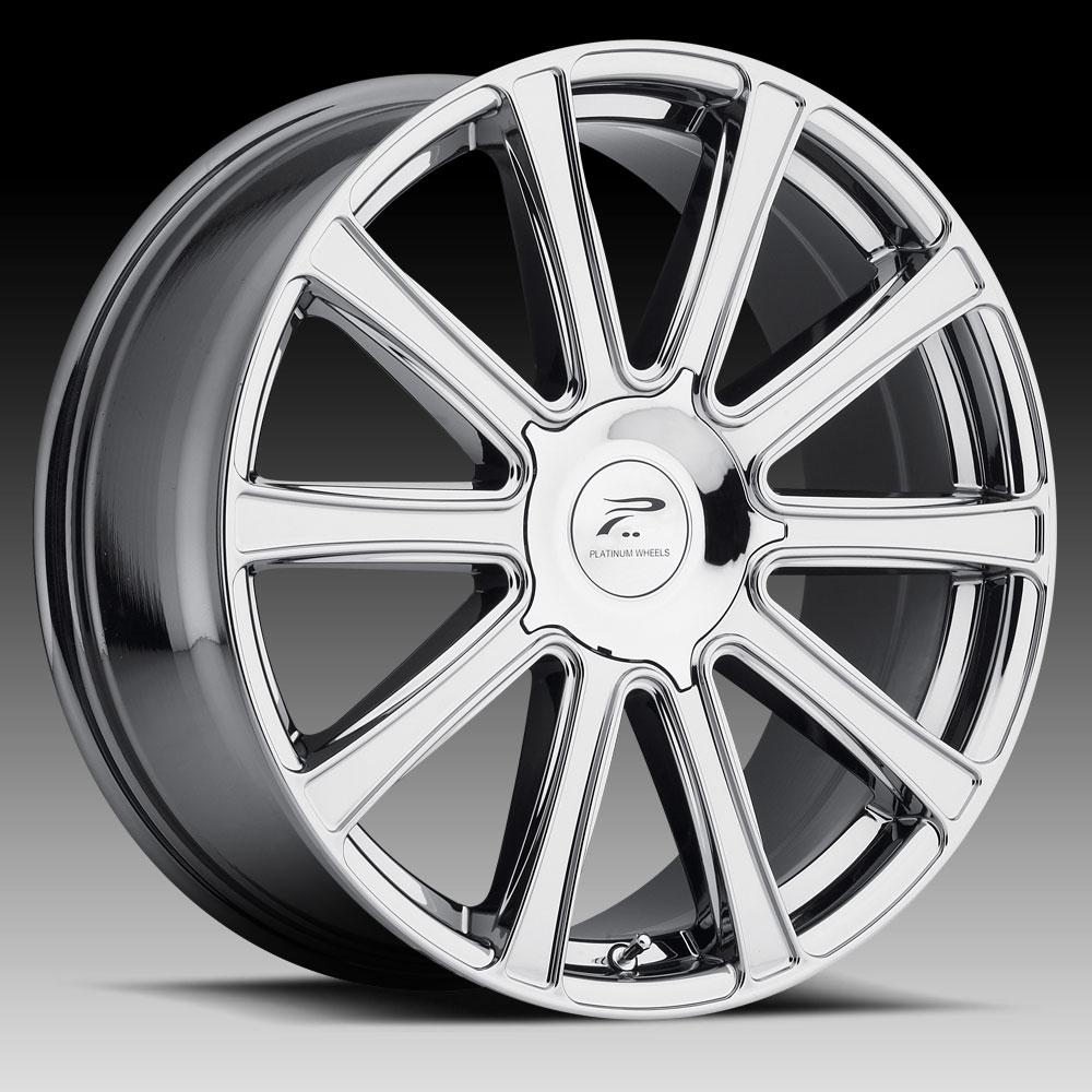 Pratnumz Platinum: Platinum 410 Divine Chrome PVD Custom Wheels Rims