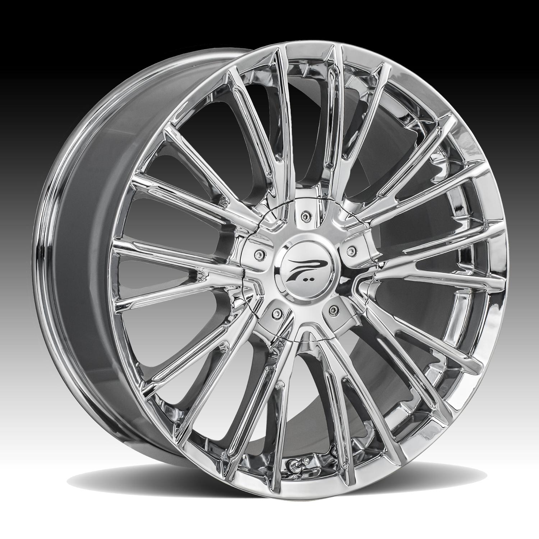 Pratnumz Platinum: Platinum 437C Genesis Chrome Custom Wheels Rims