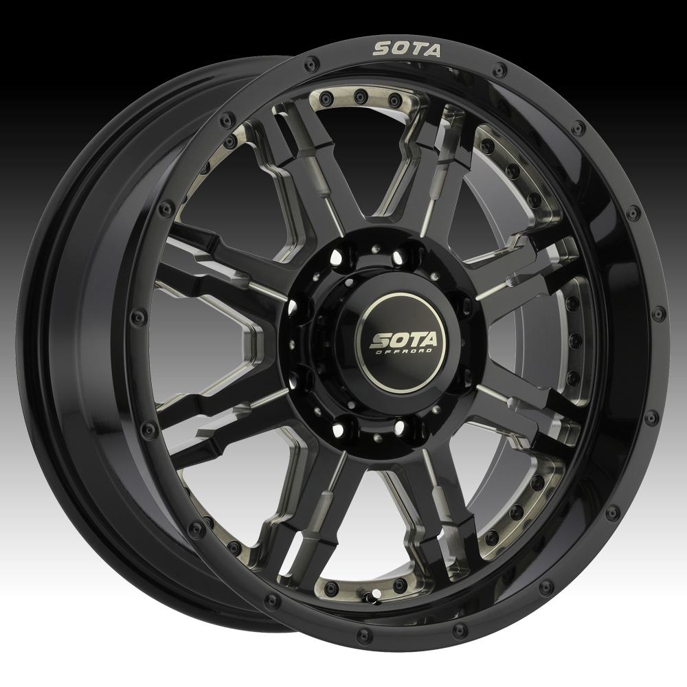 SOTA Offroad JATO Ghost Metal Custom Truck Wheels Rims
