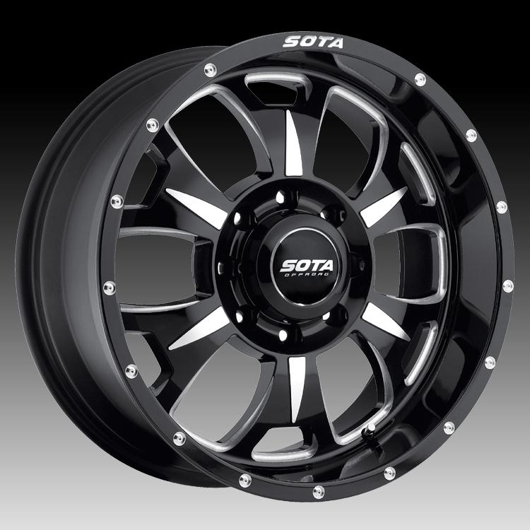 Truck Wheels Rims : Sota offroad m death metal custom truck wheels rims