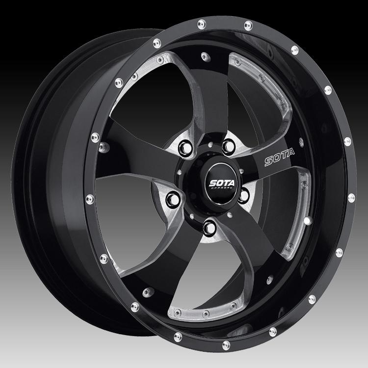 SOTA Offroad Novakane Metal Custom Truck Wheels Rims - SOTA ...