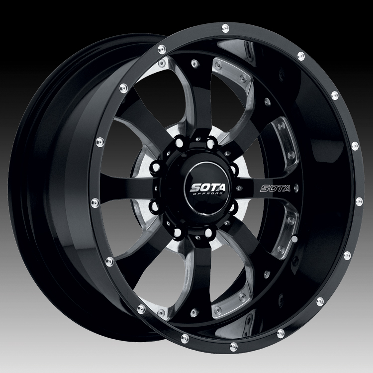 Truck Wheels Rims : Sota offroad novakane death metal custom truck wheels rims
