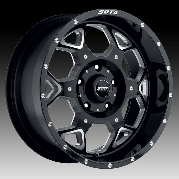 SOTA Offroad S.K.U.L. Metal Custom Truck Wheels Rims - SOTA ...