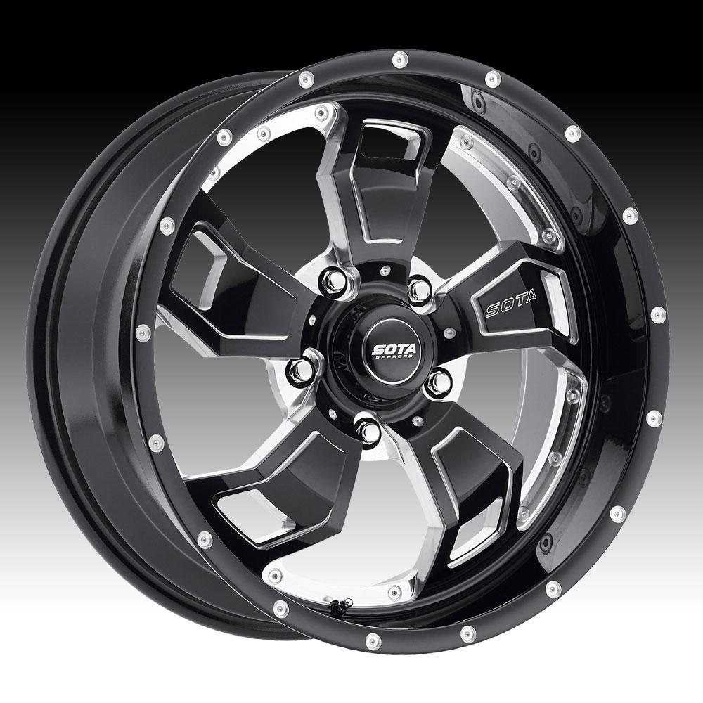 Sota Offroad S C A R Death Metal Custom Truck Wheels Rims